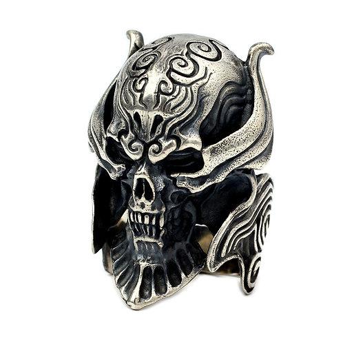 925 sterling silver demon goth punk ring
