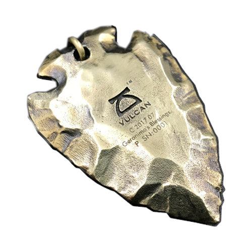 Geronimo's blessing pedant Handmade original 925 sterling silver