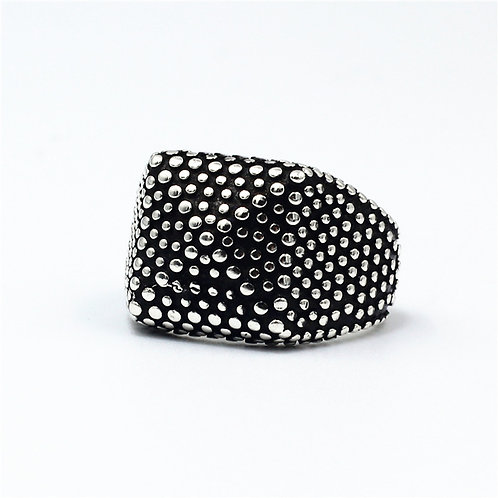 925 sterling silver goth punk ring