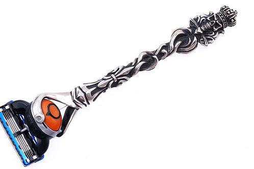 Original Design Handmade Silver Jewelry 925 silver scepter shaver