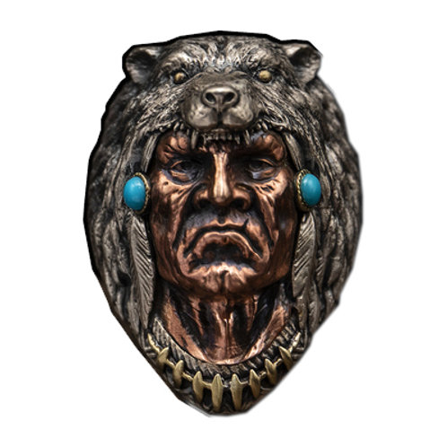 Indian chief ring Handmade original 925 sterling silver