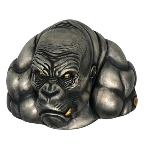 King Kong Belt Buckle Handmade original 925 sterling silver
