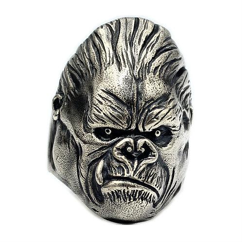 925 sterling silver gorillaz goth punk ring