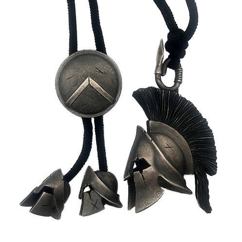 Original handmade Spartan helmet 925 sterling silver