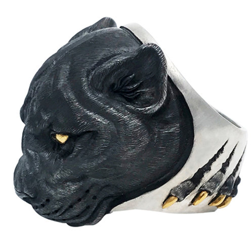 The Panther Ring Handmade original 925 sterling silver