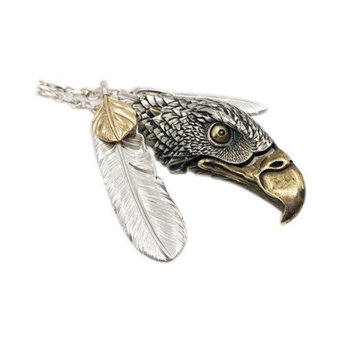 Falcon's head knife Handmade original 925 sterling silver