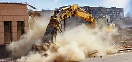 building demolition, Commercial demolition