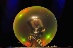 Mr. Balloon Man's own ecosphere