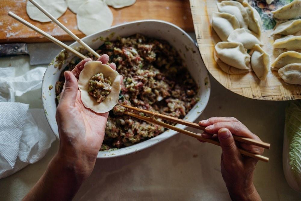 Vegetable Dumpling Filling