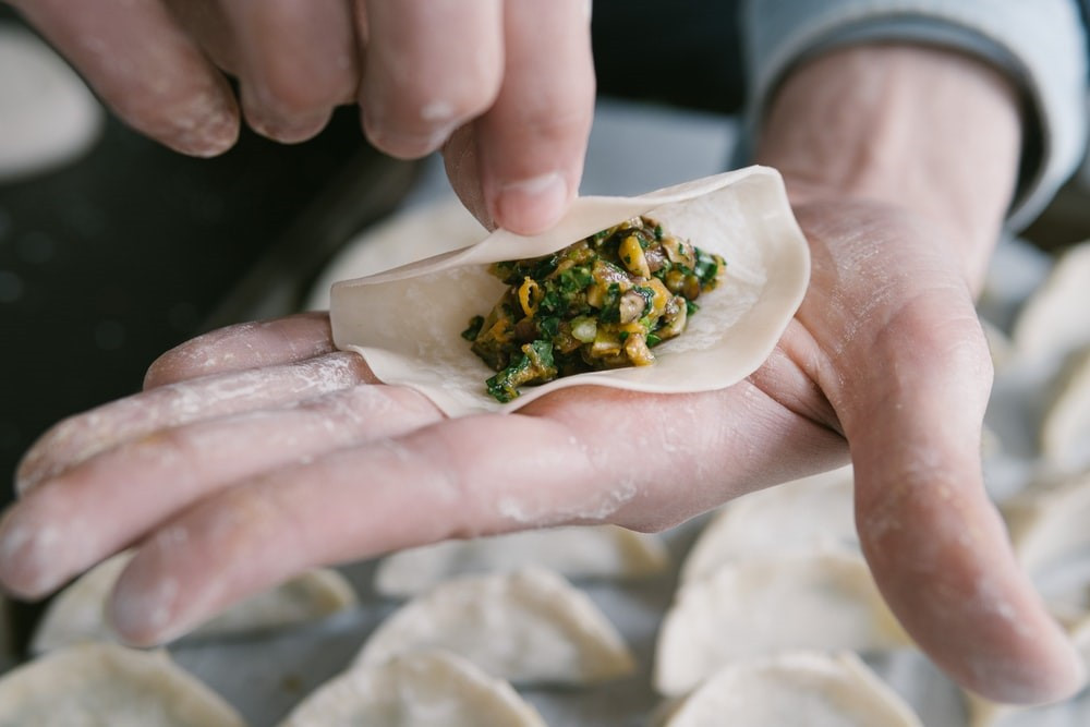 Make dumpling filling at home