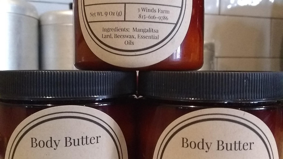 Hand Poured Body Butter