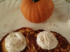 Yummy Low Carb  Light as a feather Pumpkin Pancakes