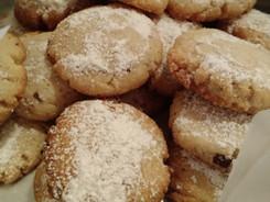 Low Carb Coconut Shortbread Cookies
