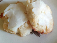 LOW CARB - GLUTEN FREE  LEMON RICOTTA CHEESE COOKIES