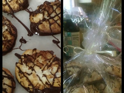 Scrumptious Chocolate Dipped Coconut Macaroons