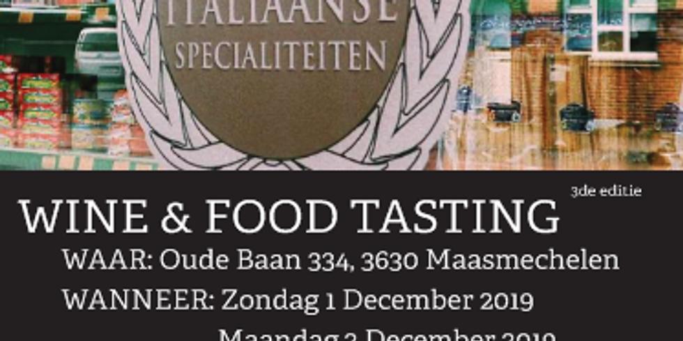 FOOD & WINE TASTING 2019 - 3de editie