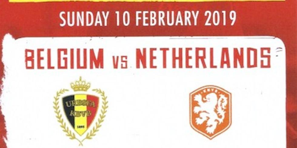 BELGIUM vs NETHERLANDS