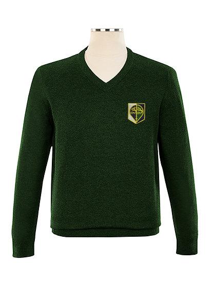 Green STS Pullover (Grades K-12)