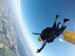 Výskok z letadla ✈