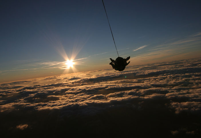 Sunset jump 🌇