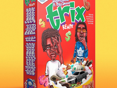 "Whiterosemoxie & Baby Smoove Team Up On New Music Video For ""trix (Remix)"""