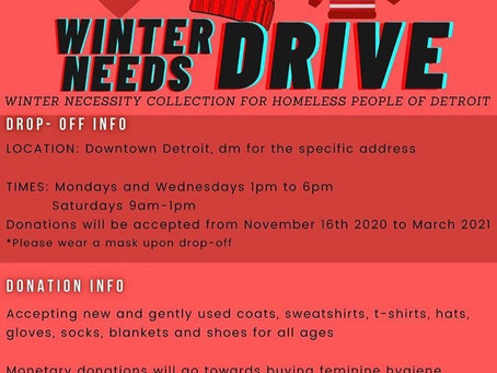 Love & Light Creates Sparks Necessity Drive Initiative