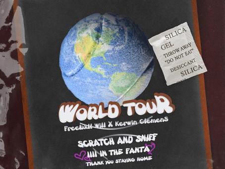 "Freebxll Will x Kerwin Clemens Reunite on New Single ""World Tour"""