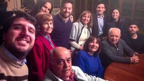 Reunión y confraternización con representantes de la colectividad portuguesa