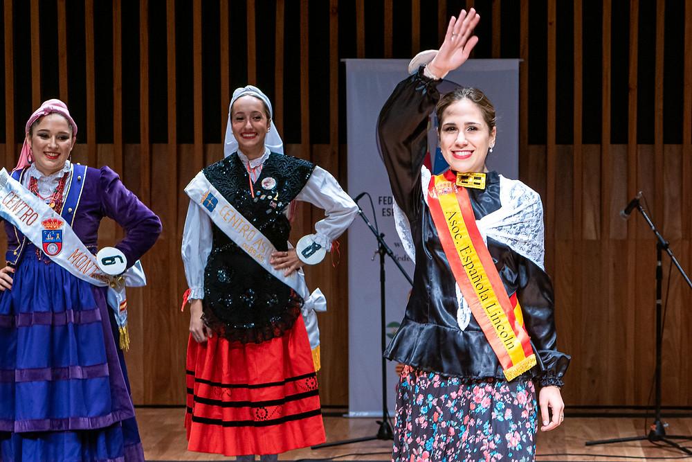 Primera princesa: Fernanda Russo (Asociación Española de Lincoln) - Fotografía por Adolfo Uzcátegui