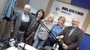 En Radio Belgrano con Finita, la vicecónsul de Puerto San Julián, en Recorriendo España