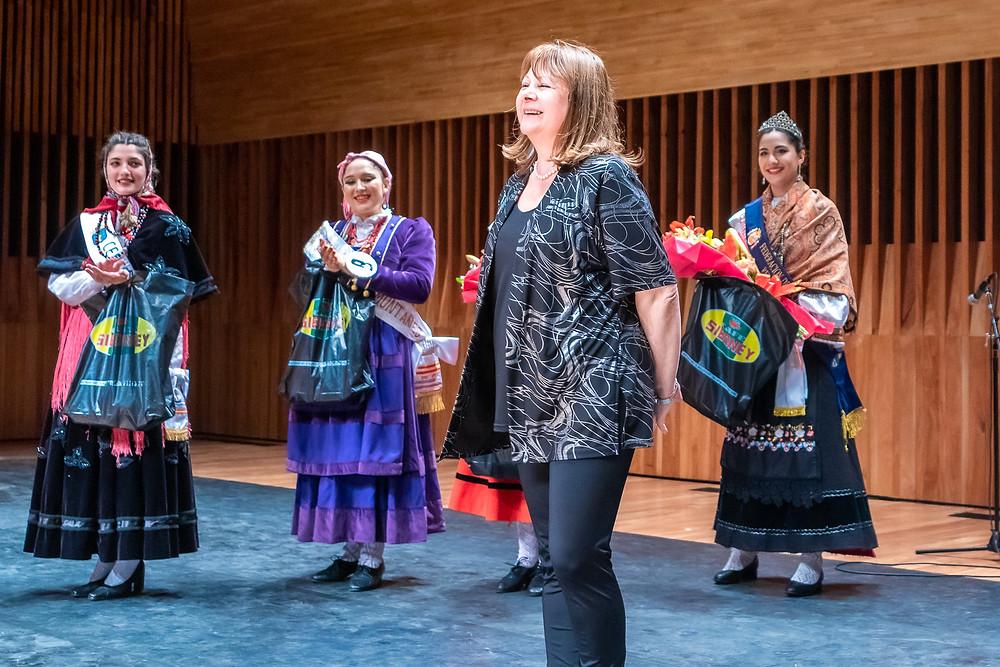 Ana María Rey Cister, Presidente de la Subcomisión de música y folklore de España