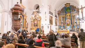 Fiesta del Apóstol Santiago en la Parroquia San Ignacio de Loyola
