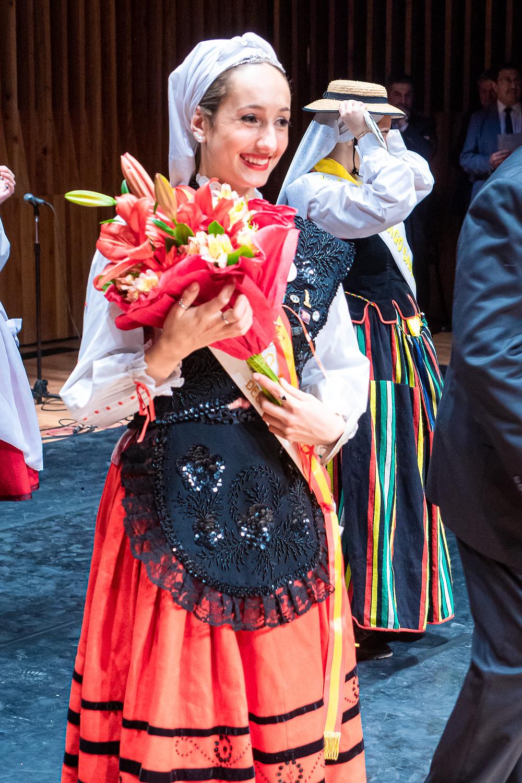Segunda princesa: Giuliana García De Santis (Centro Asturiano de Buenos Aires) - Fotografía por Adolfo Uzcátegui