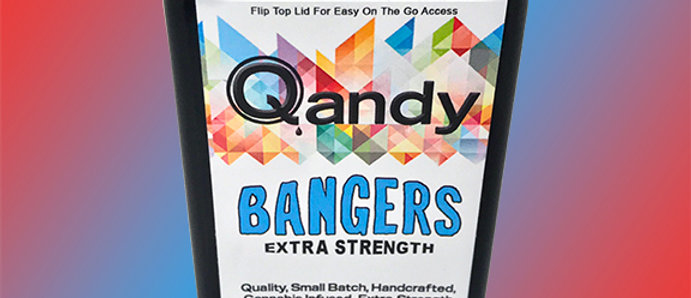 500mg Qandy | Mixed Fruit Bangers Extra Strength