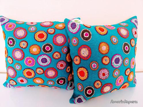 """Alpaca cushions """"CIRCULOS"""""""