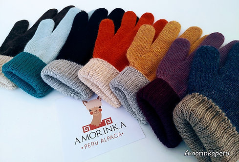 NEW REVERSIBLE ALPACA GLOVES