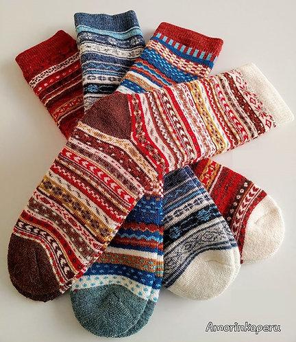 """Alpaca Stockings """"GEOCOLOR"""""""