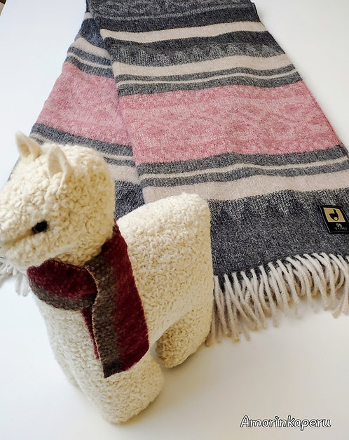 Scottish Blanket Baby Alpaca
