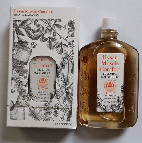 Hysan Muscle Comfort Essential Massage Oil