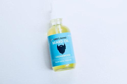 Dirk's Blend Beard & Mustache Oil  | Cedarwood