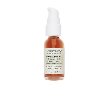 BOTANICAL FACE JELLY | Hyaluronic Acid, Hibiscus & Rose Extracts