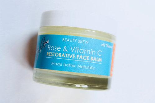 Restorative Rose Face Balm w/ Vitamin C