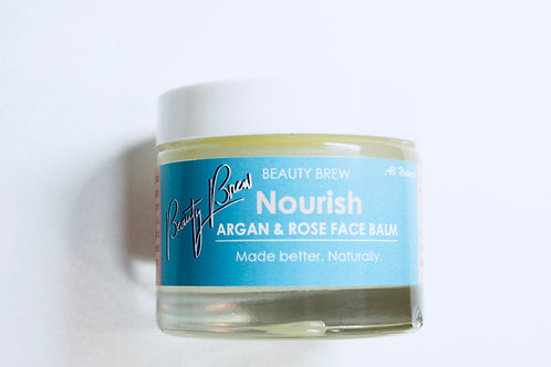 Nourish. Argan & Rose Face Balm