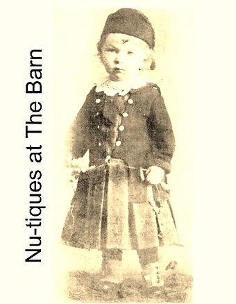 Vintage photo of child
