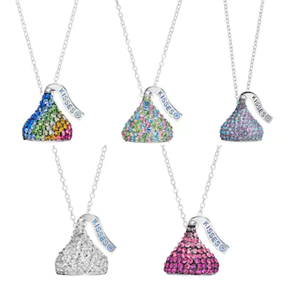 Hersheys kiss pendant necklaces reg 125 only 3187 save hersheys kiss pendant necklaces reg 125 only 3187 mozeypictures Image collections
