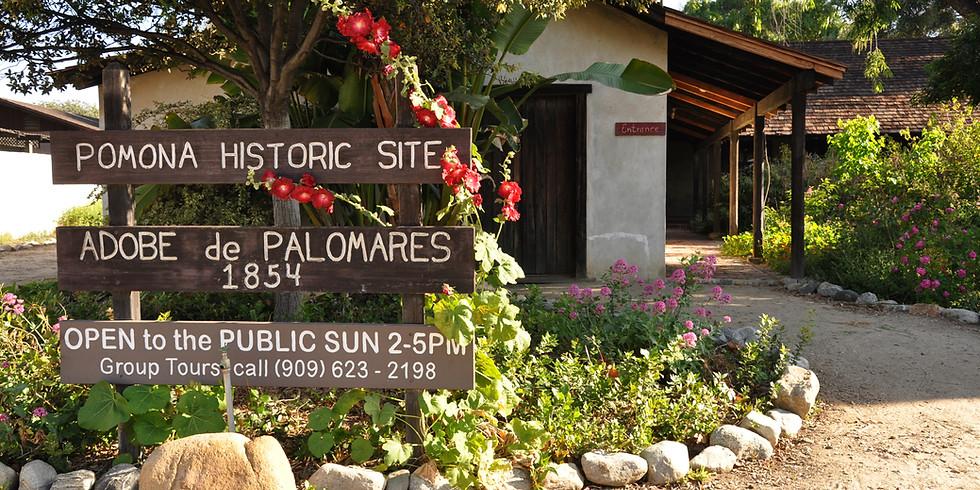 Palomares Adobe Tour: 2:30 PM