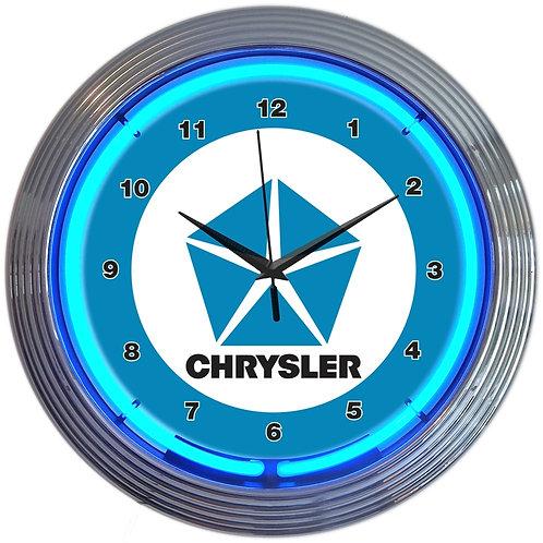 Chrysler Pentastar Neon Clock