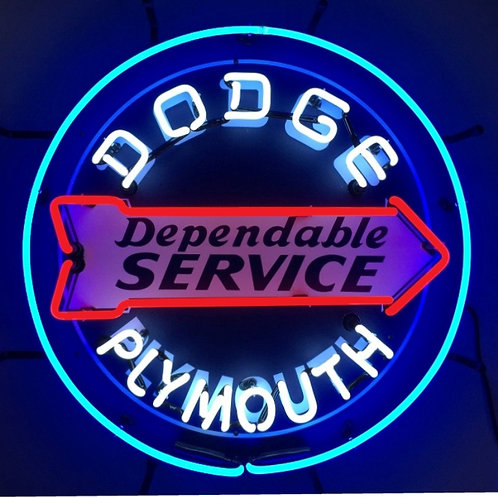 Dodge/Plymouth Dependable Service 24""