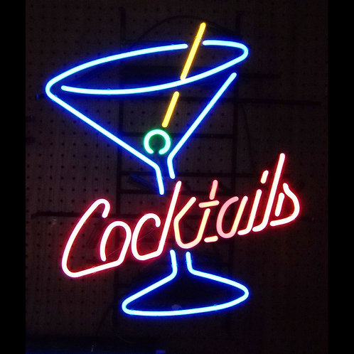 "Cocktails and Martin 26"" x 23"""