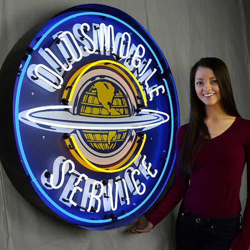 """Super Large 36"""" Oldsmobile Neon Sign!"""